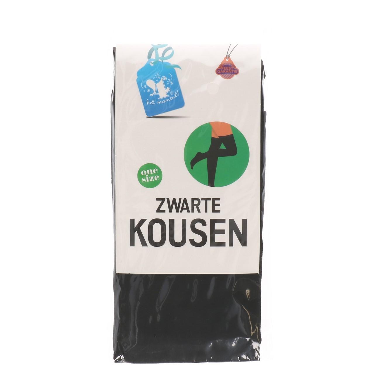 Kousen zwarte one size