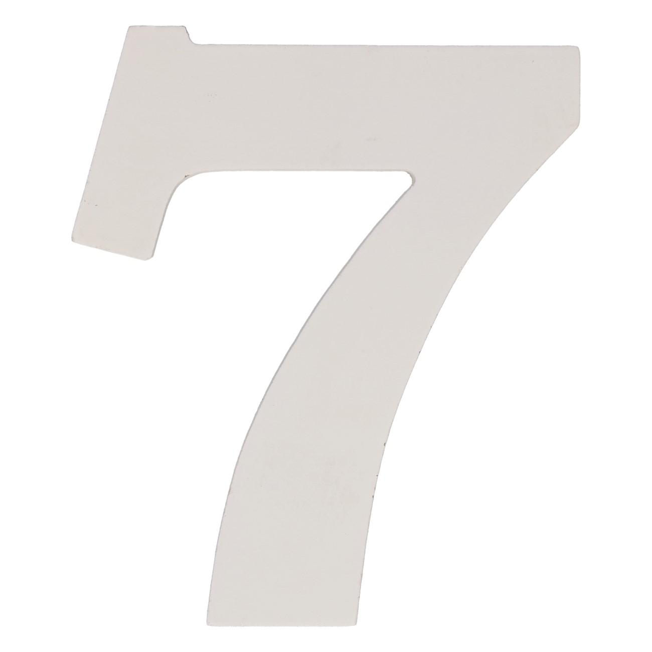 Cijfer mdf 7 (12cm)