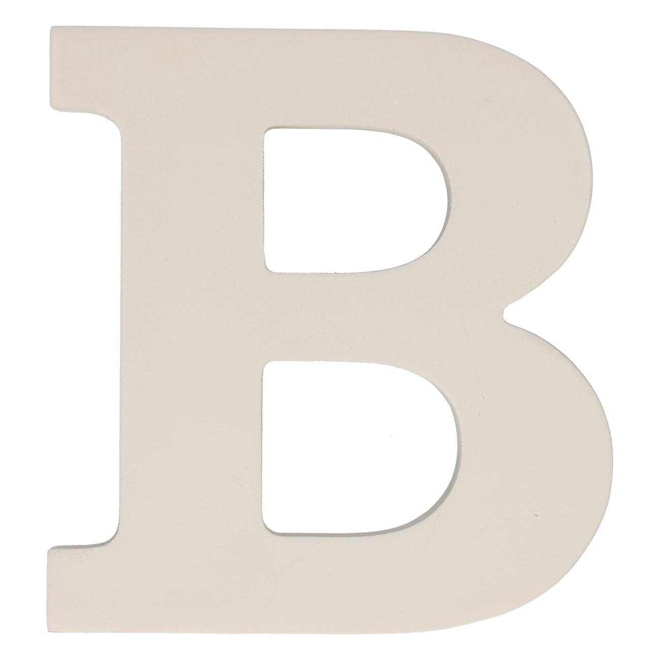 Letter mdf b (12cm)