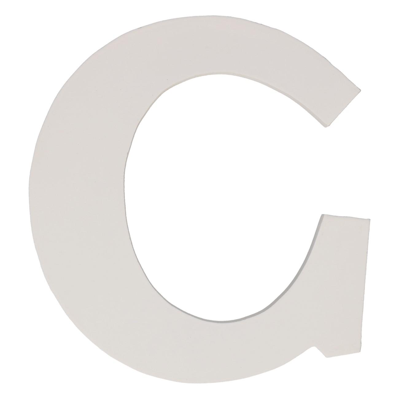 Letter mdf c (12cm)