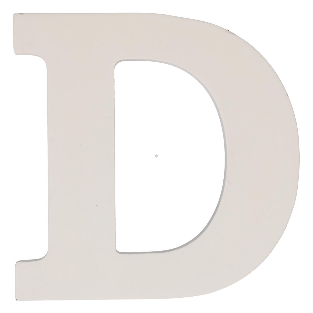 Letter mdf d (12cm)