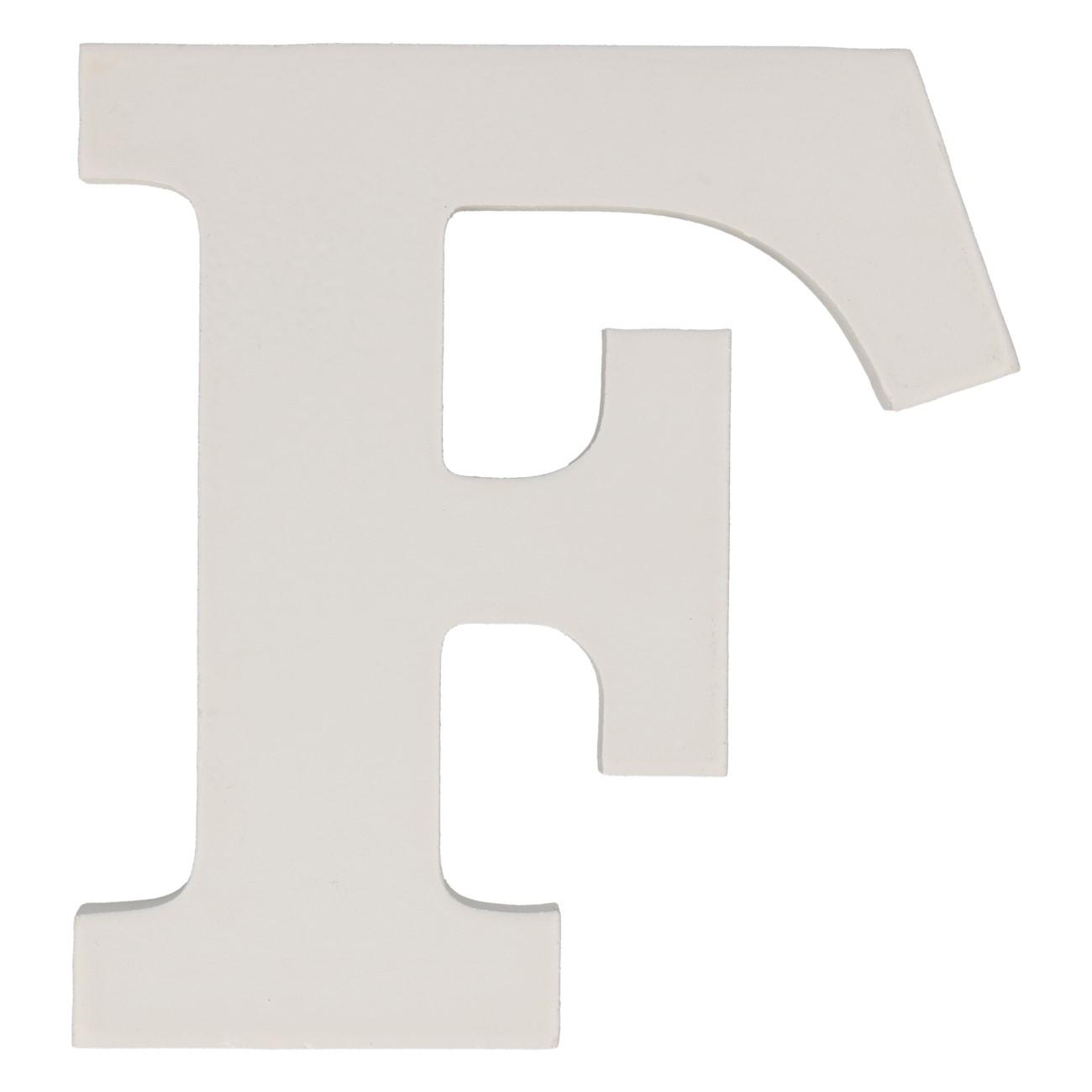 Letter mdf f (12cm)