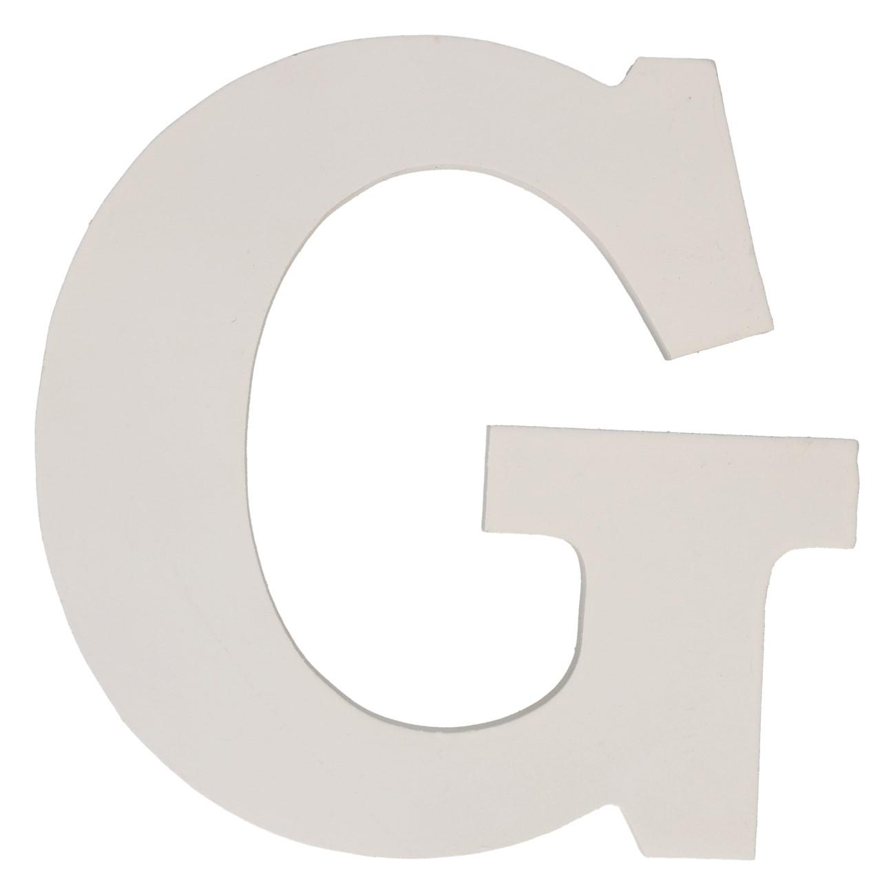 Letter mdf g (12cm)