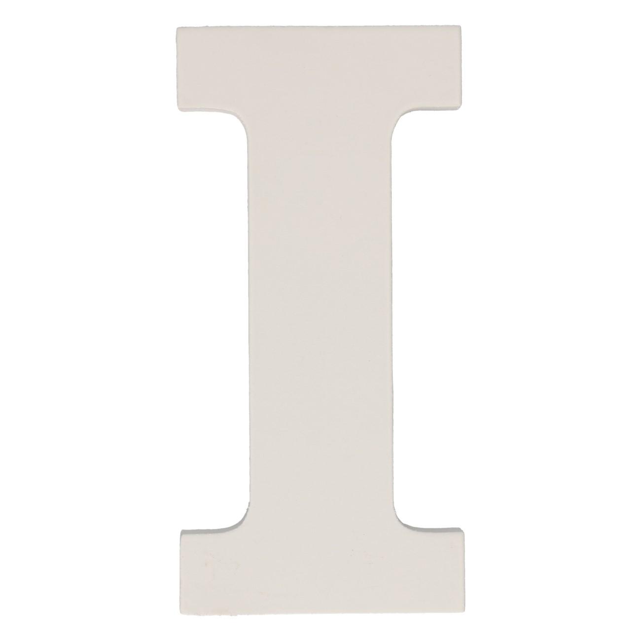 Letter mdf i (12cm)