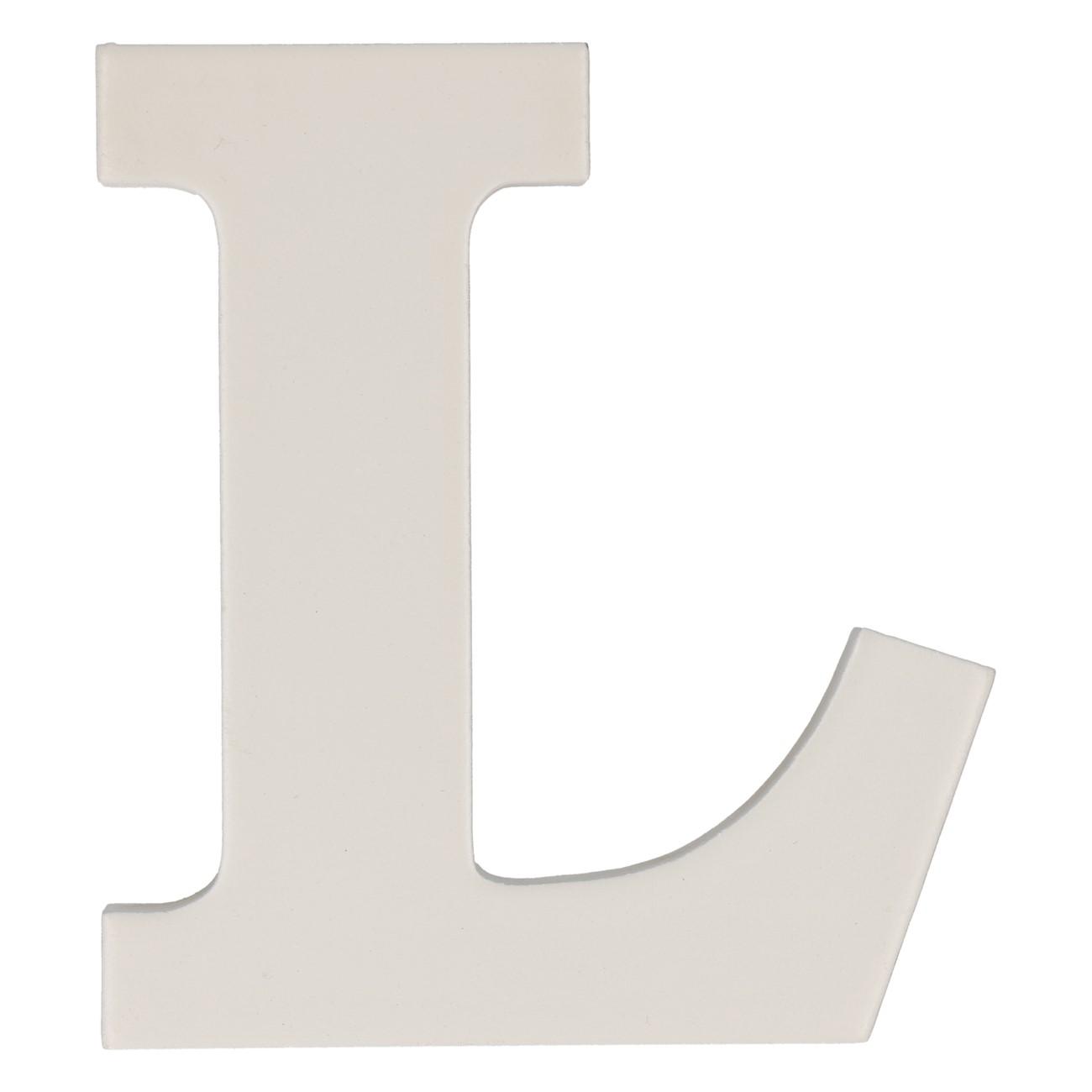 Letter mdf l (12cm)