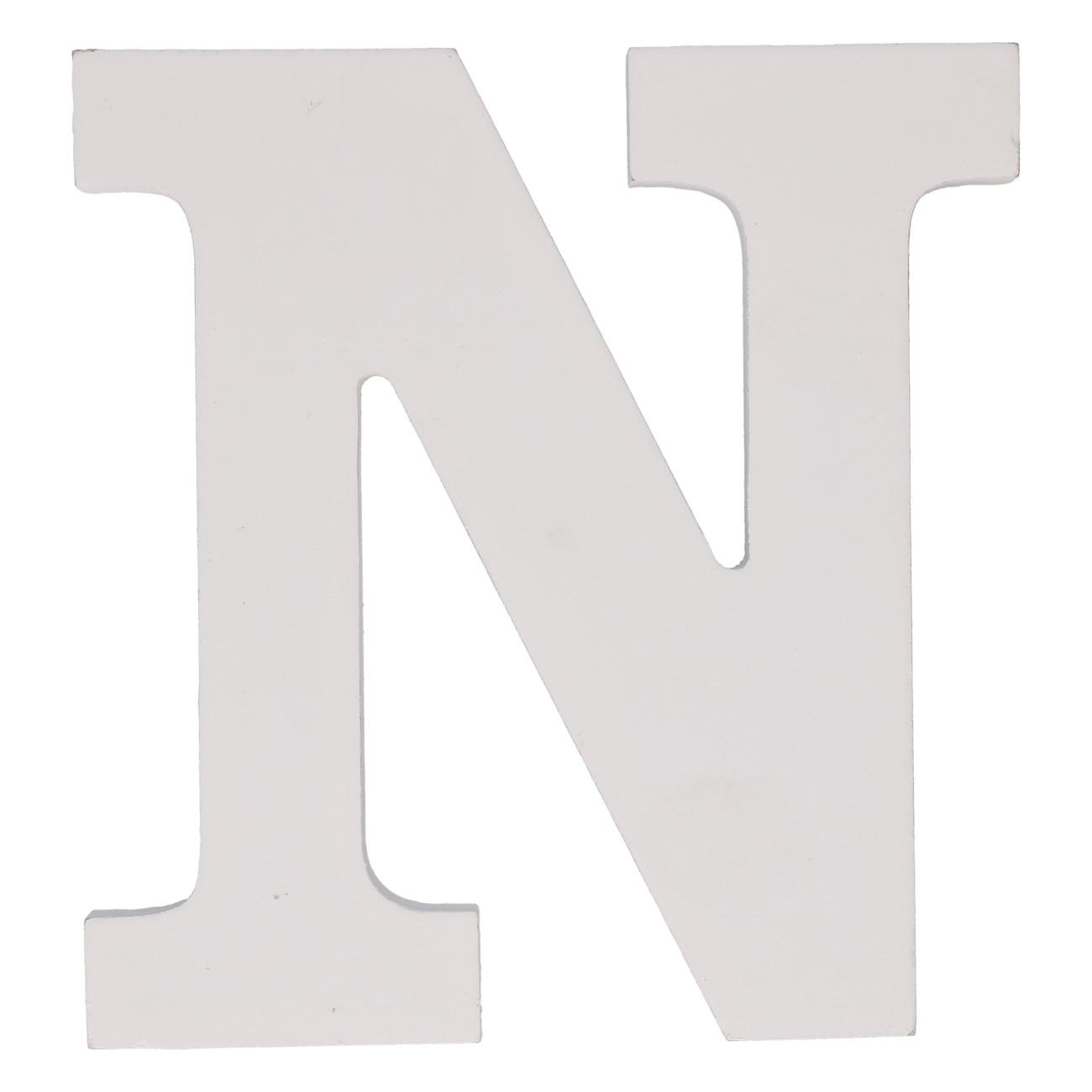 Letter mdf n (12cm)
