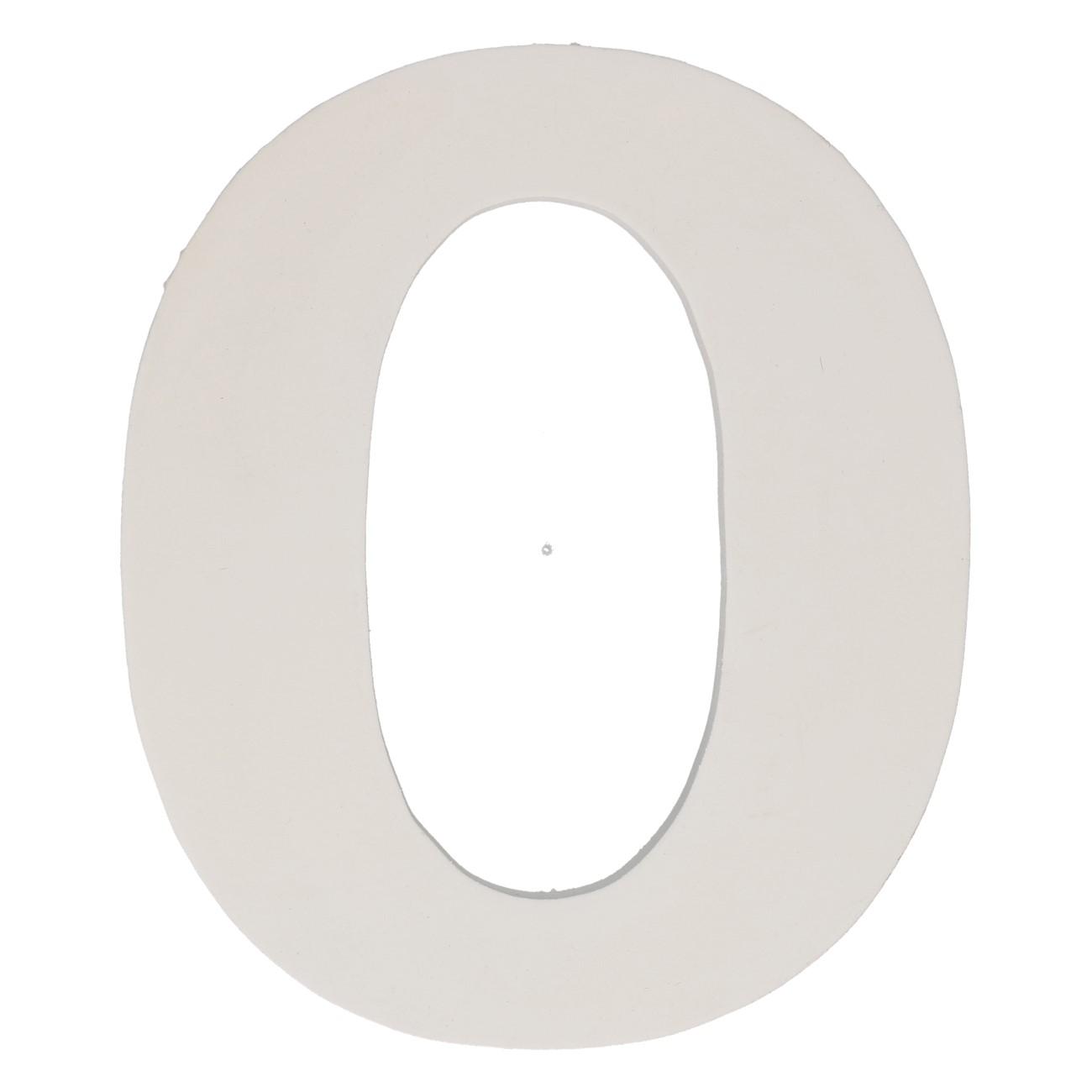 Letter mdf o (12cm)