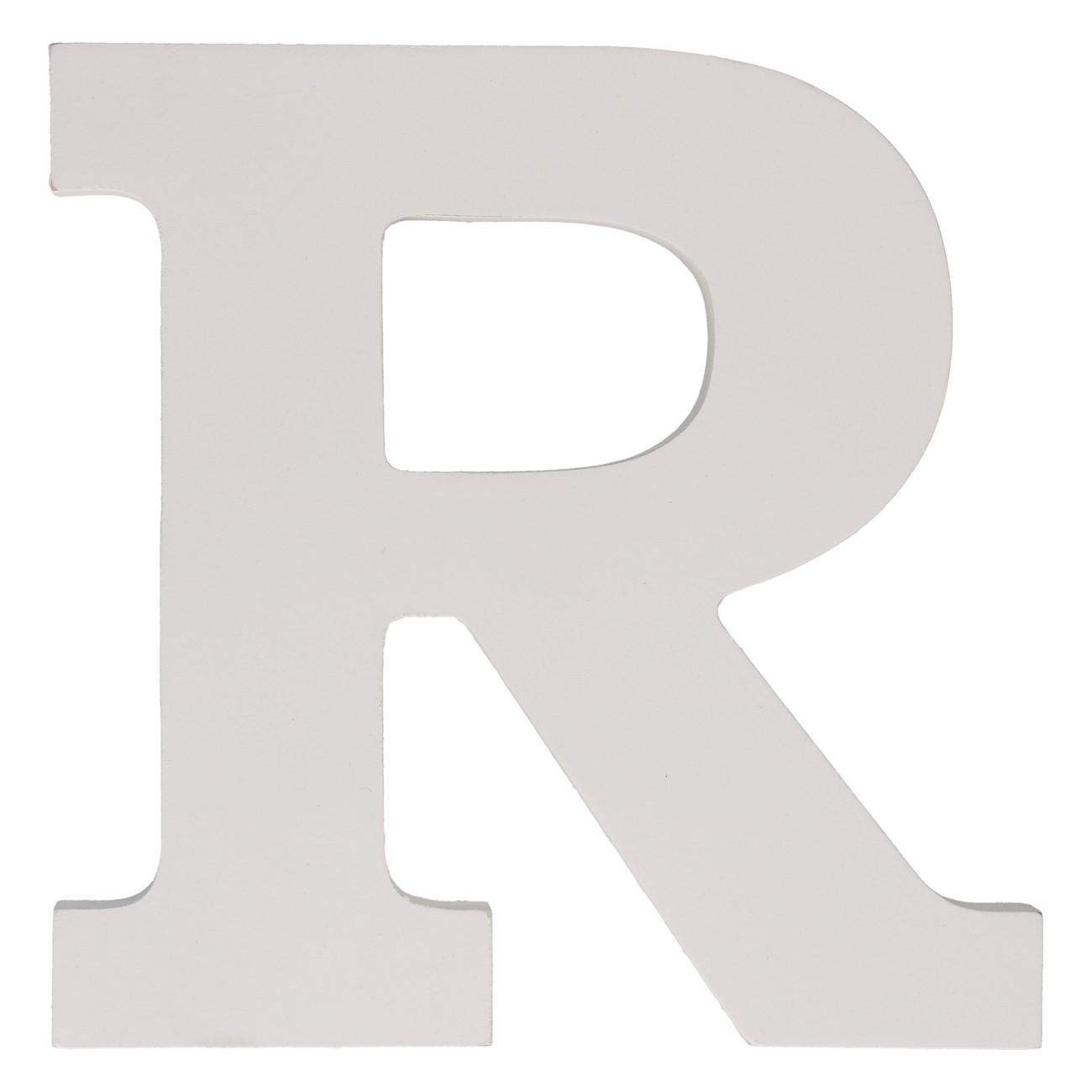 Letter mdf r (12cm)