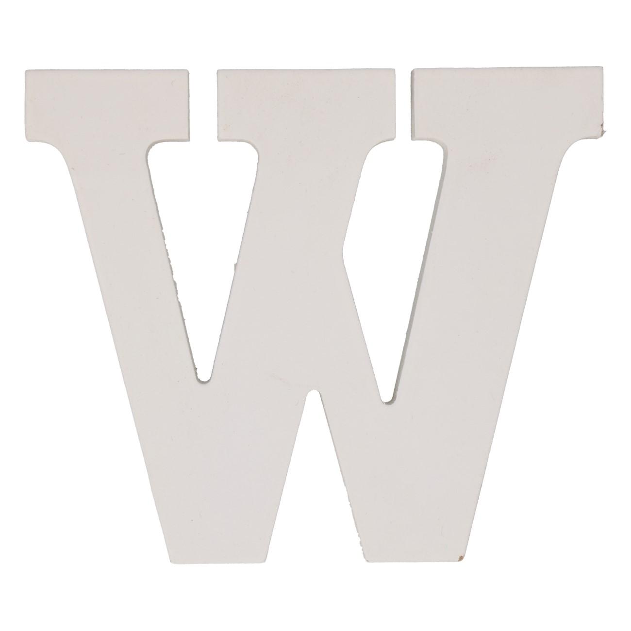 Letter mdf w (12cm)