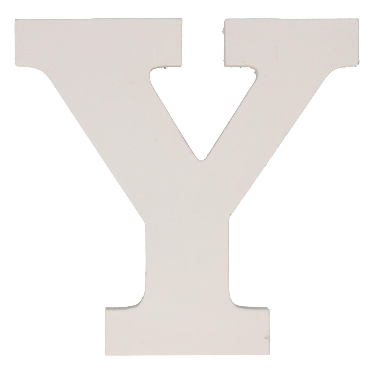 Letter mdf y (12cm)