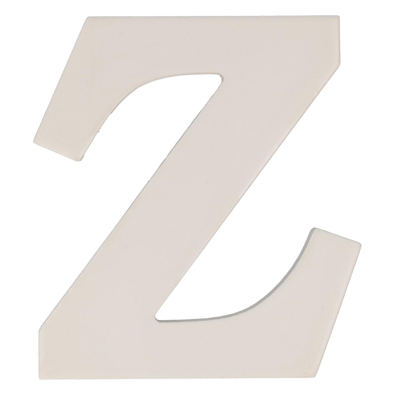 Letter mdf z (12cm)