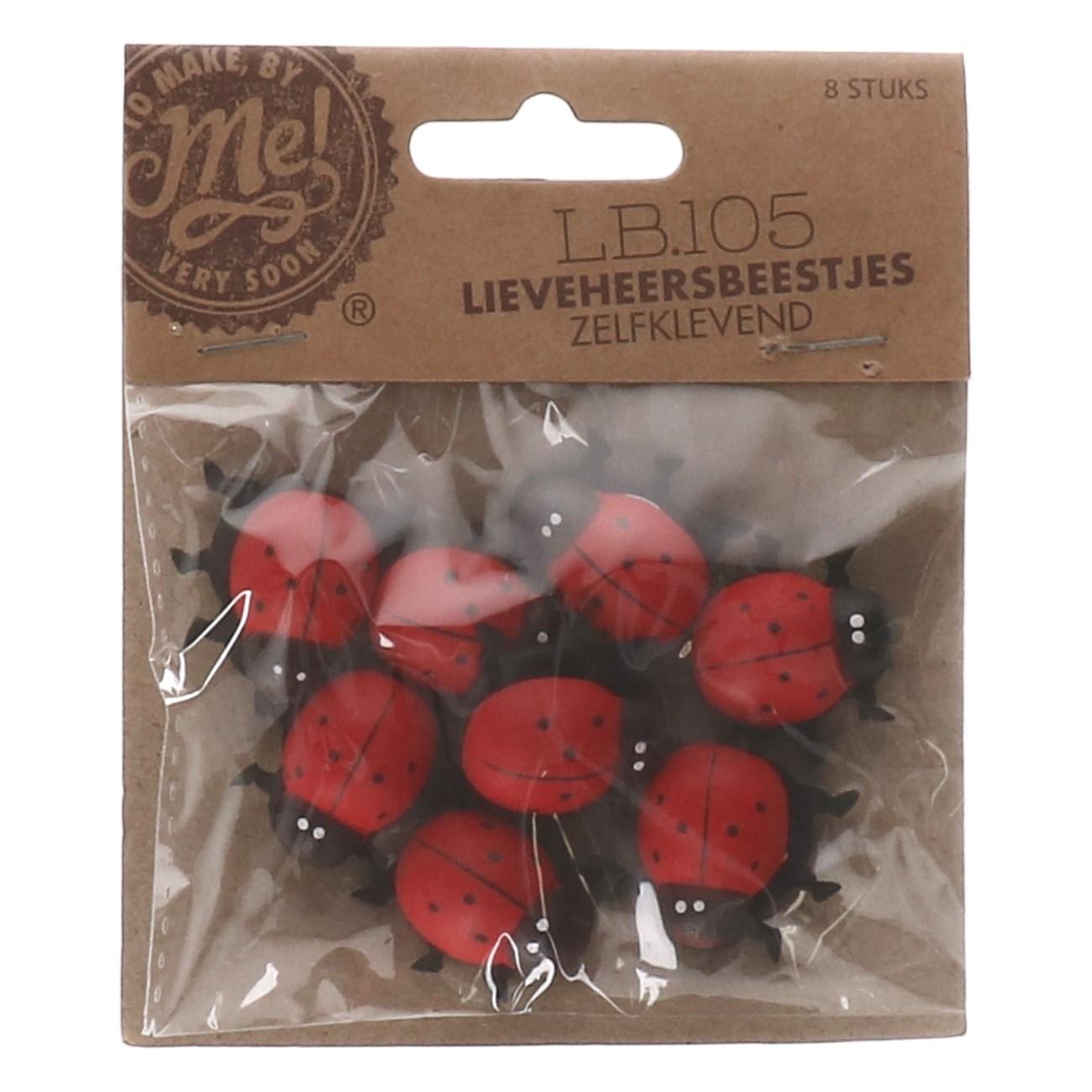 Lieveheersbeestjes zelfklevend LB.105