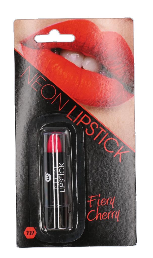 Lipstick Neon rood
