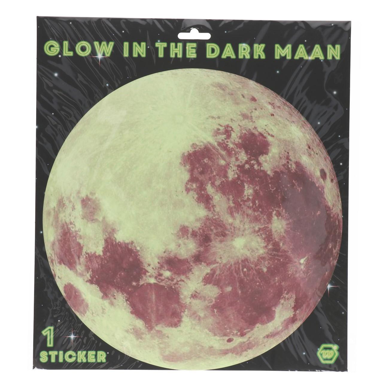 Maan glow in the dark