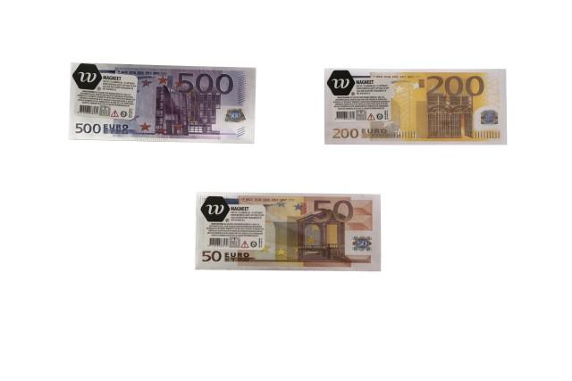 Magneet met euro design