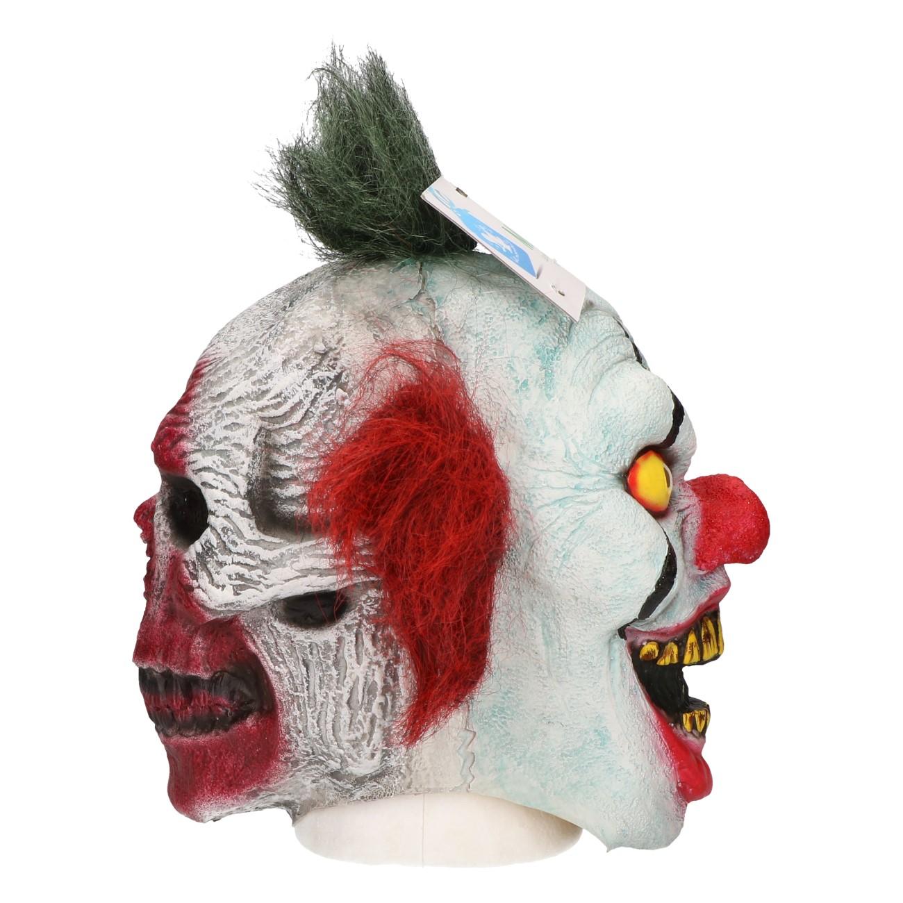 Masker two-face clown #480