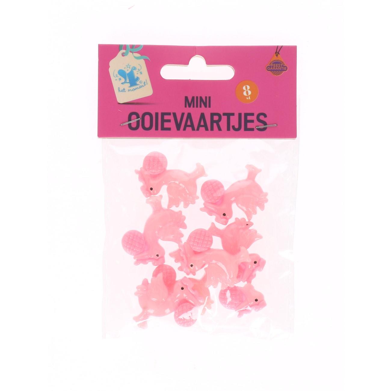 Mini ooievaartjes roze