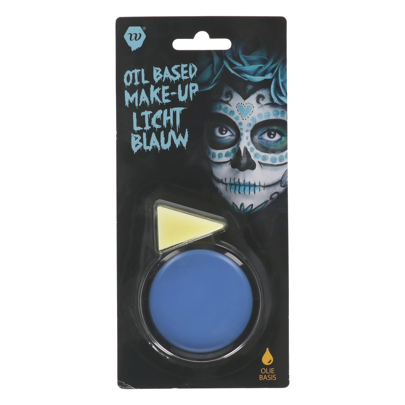 Oil-Based Make-up Licht Blauw Wauwfactor