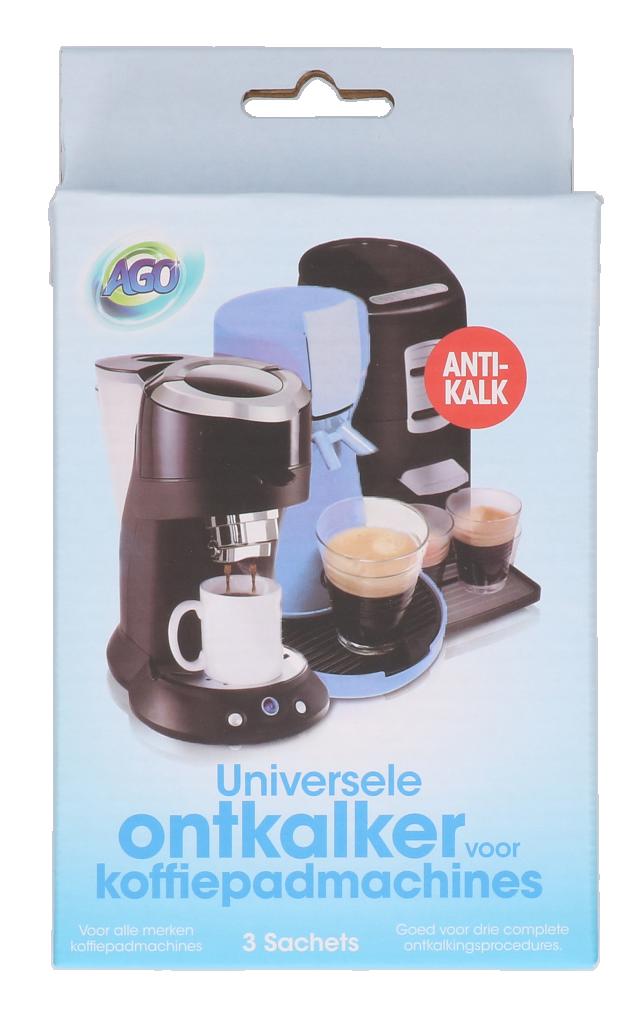 Ontkalker 3x50gram voor koffiepad
