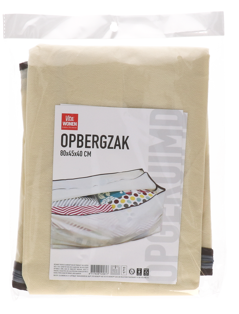 Opbergzak 80x45x40 cm