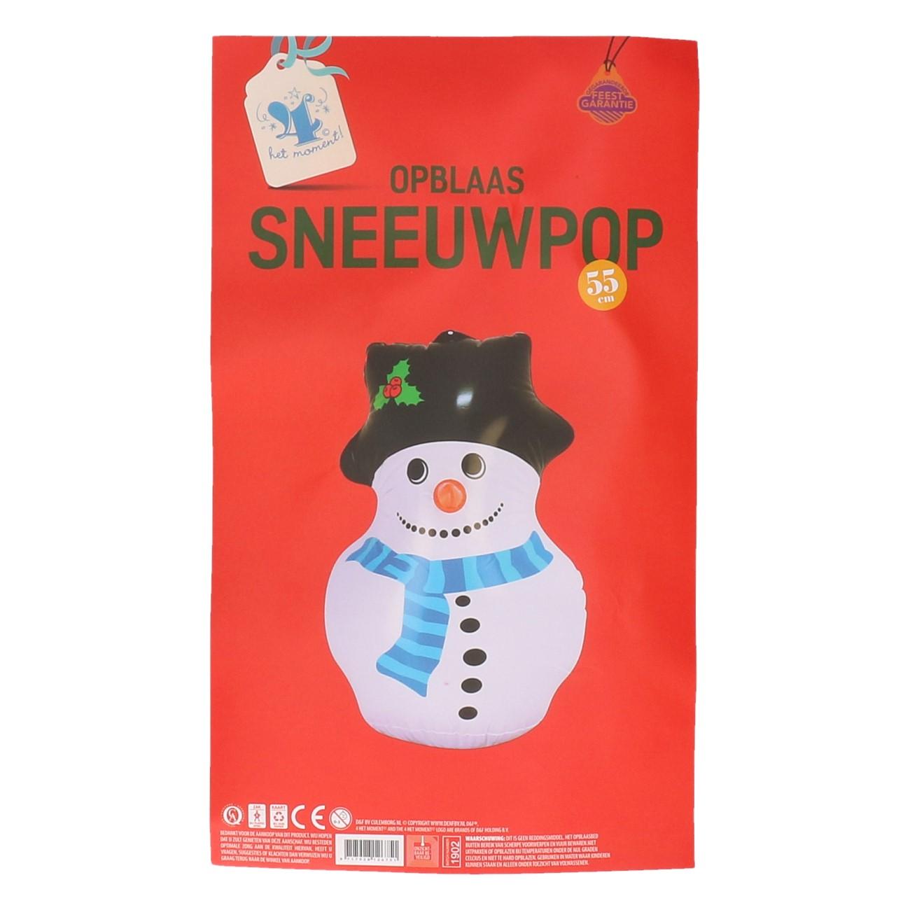 Opblaas Sneeuwpop