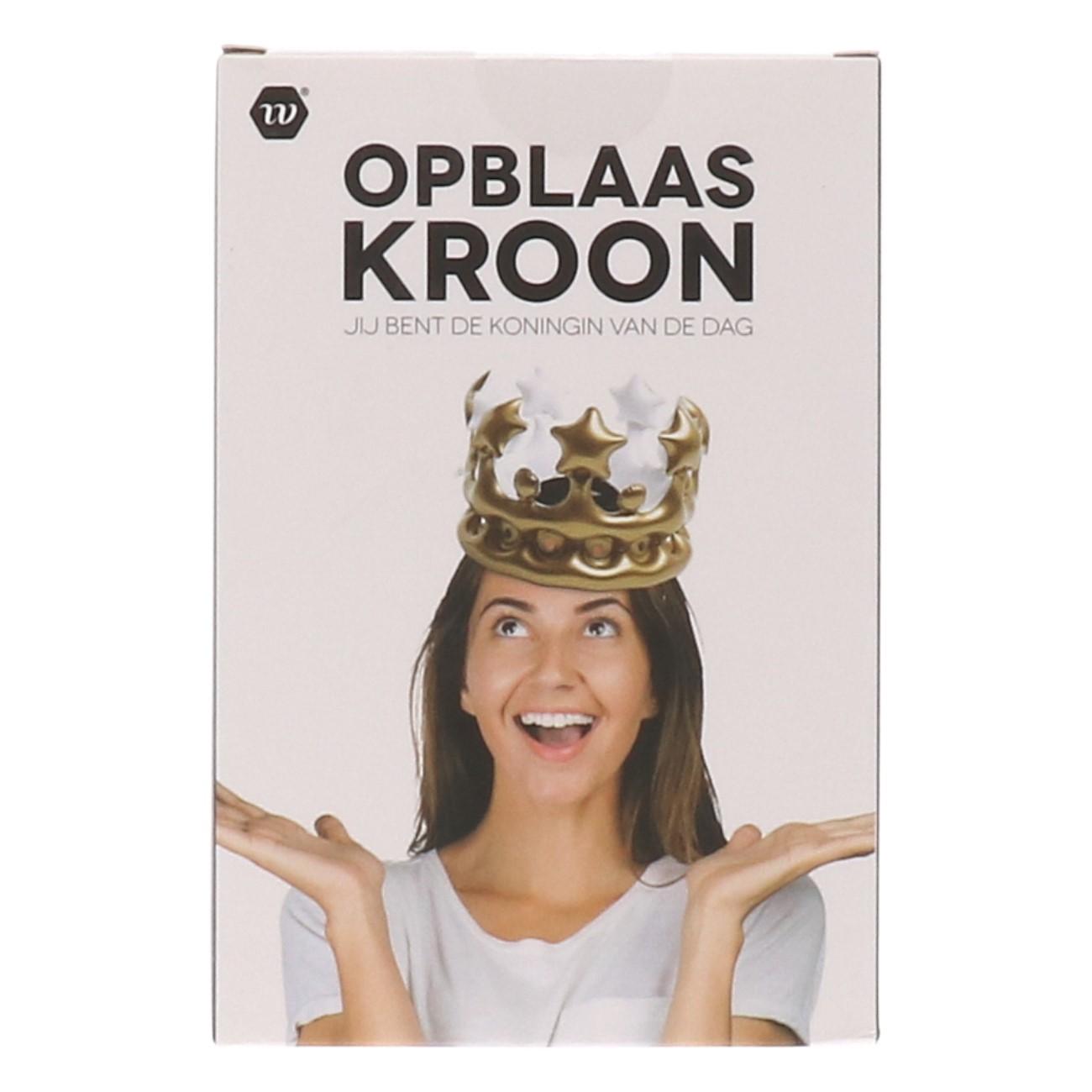 Opblaas kroon