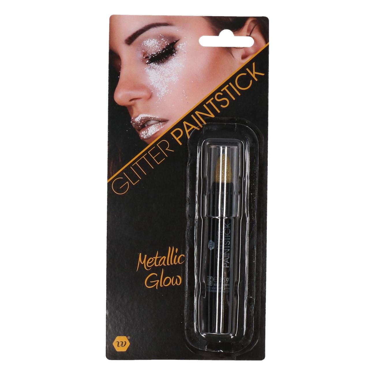 Paint stick glitter goud 3,5gr