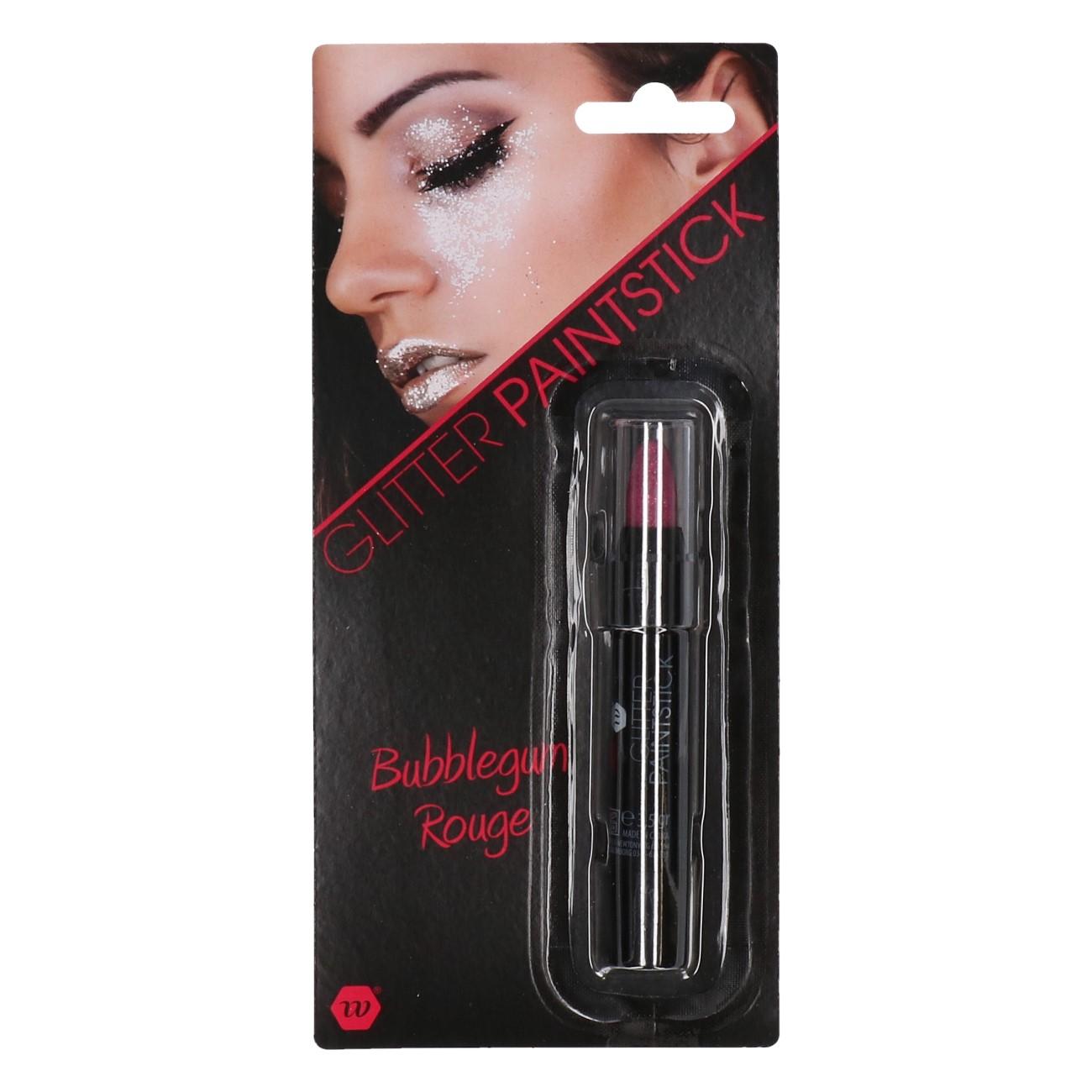 Paint stick glitter roze 3,5gr