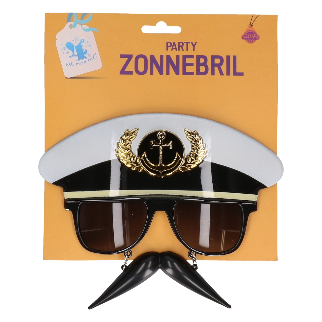 Partybril Kapitein