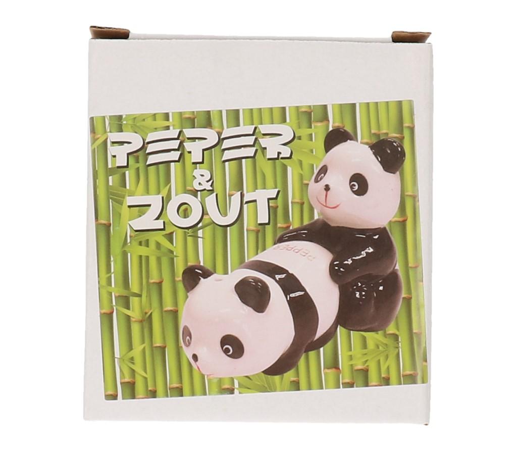 Peper&zout stel panda