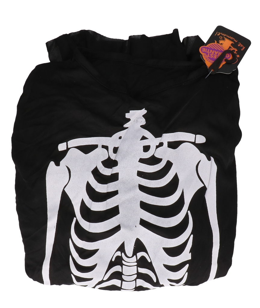 Pij one size met skelet print