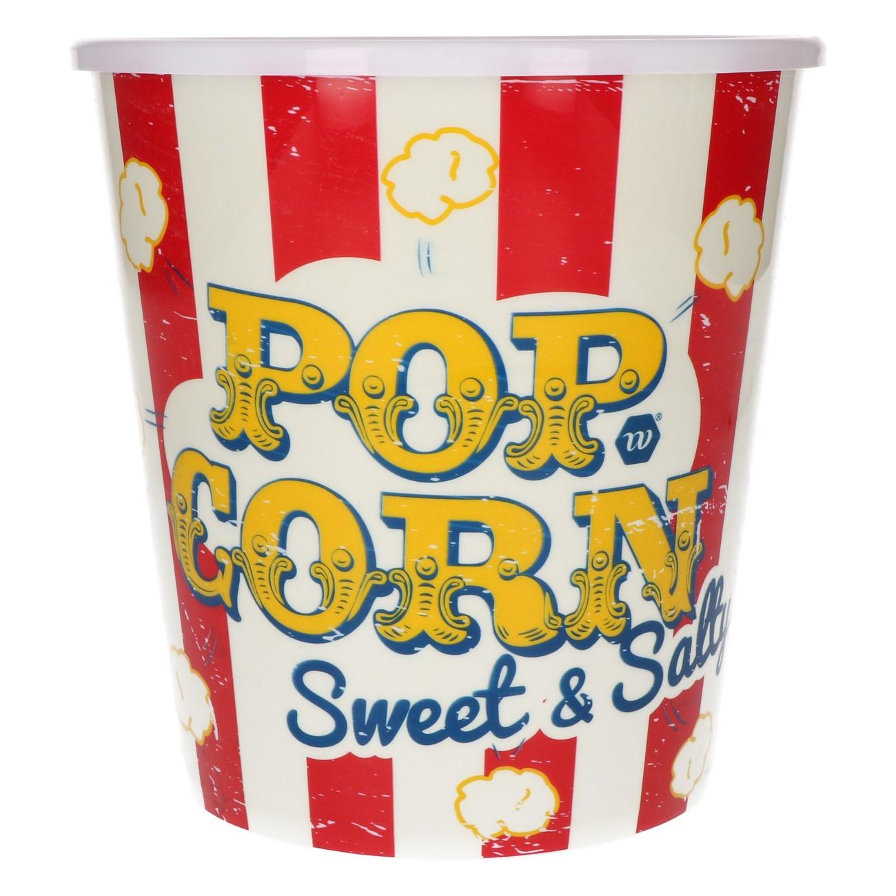 Popcorn beker retro
