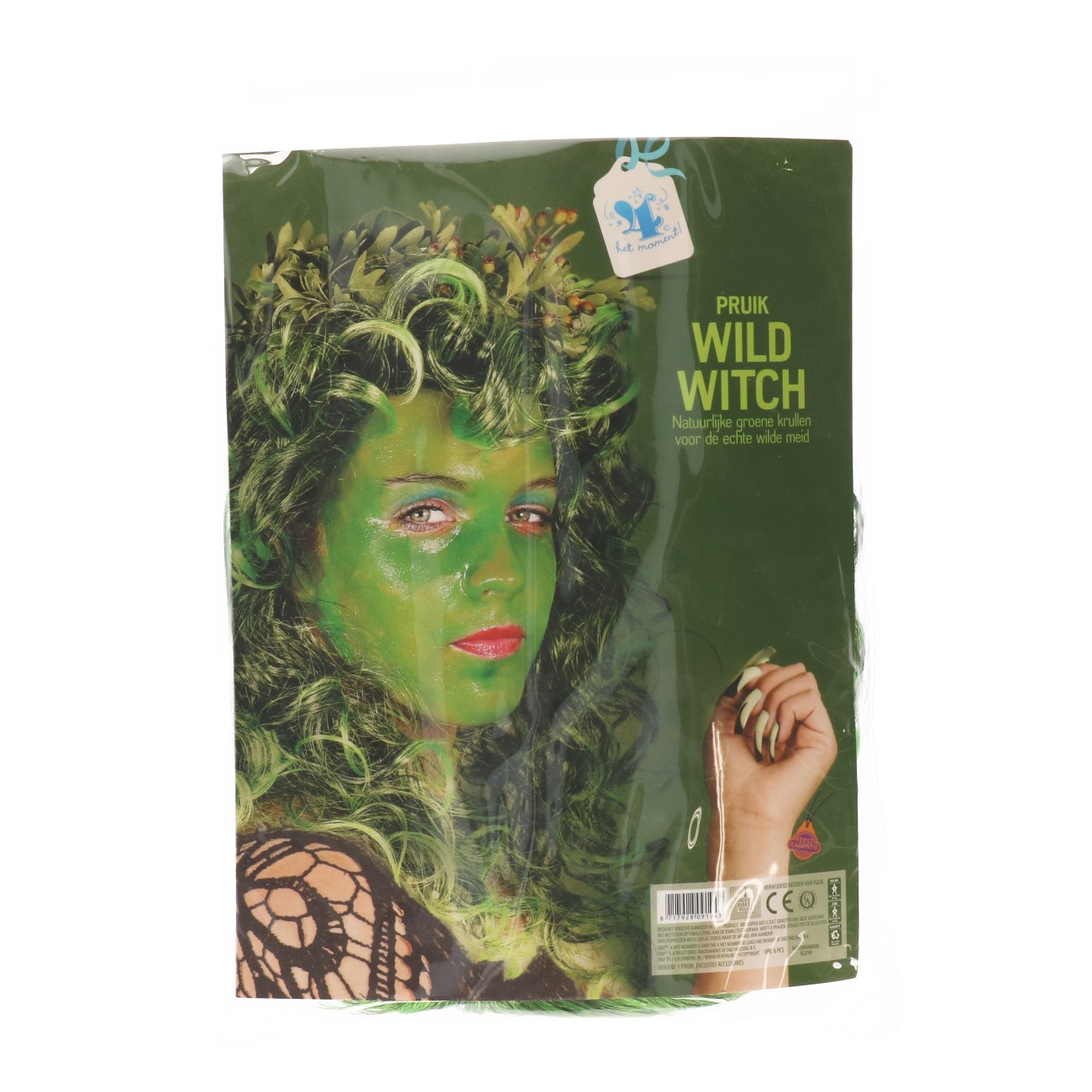 Pruik wild witch
