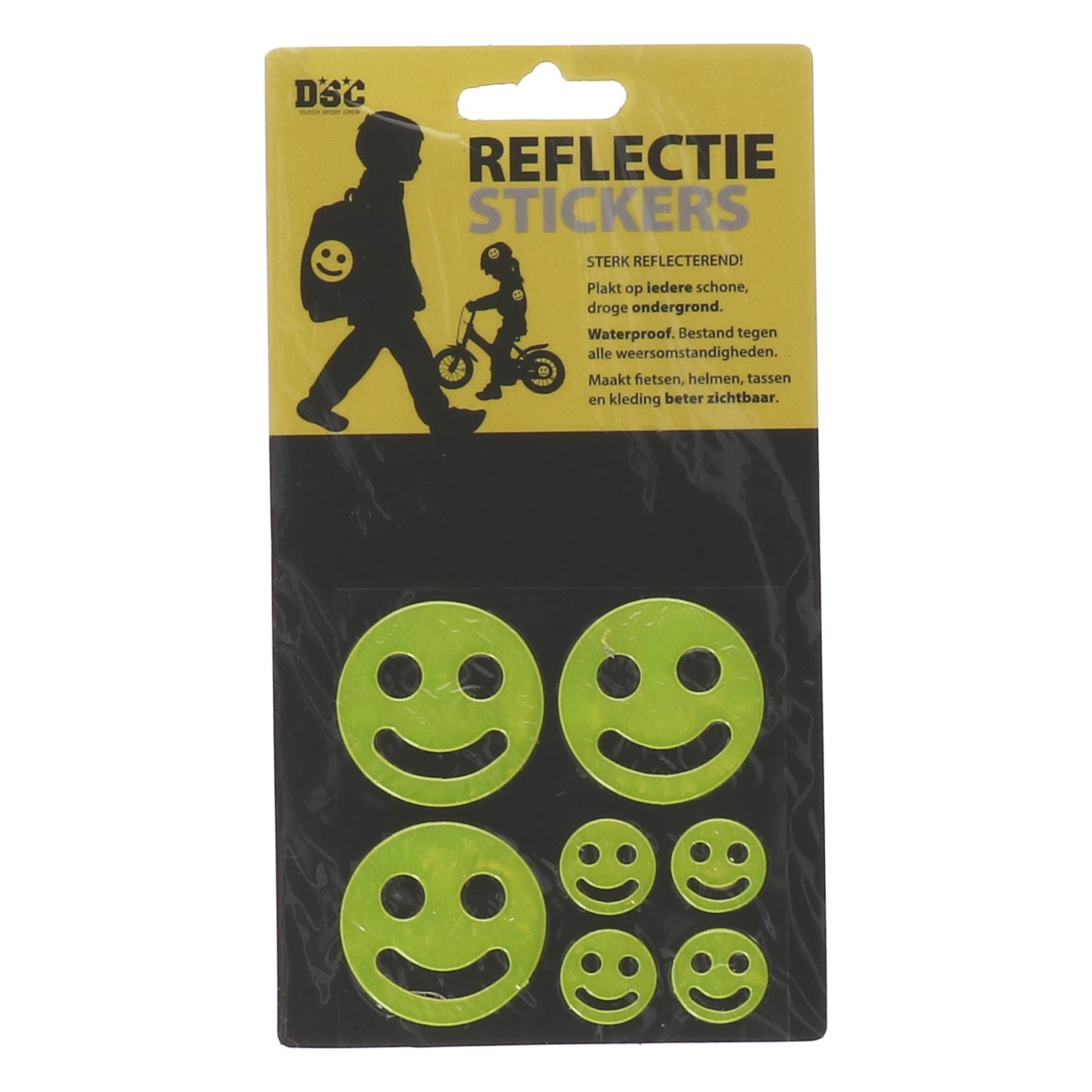 Reflectiestickers smile 7 stuks