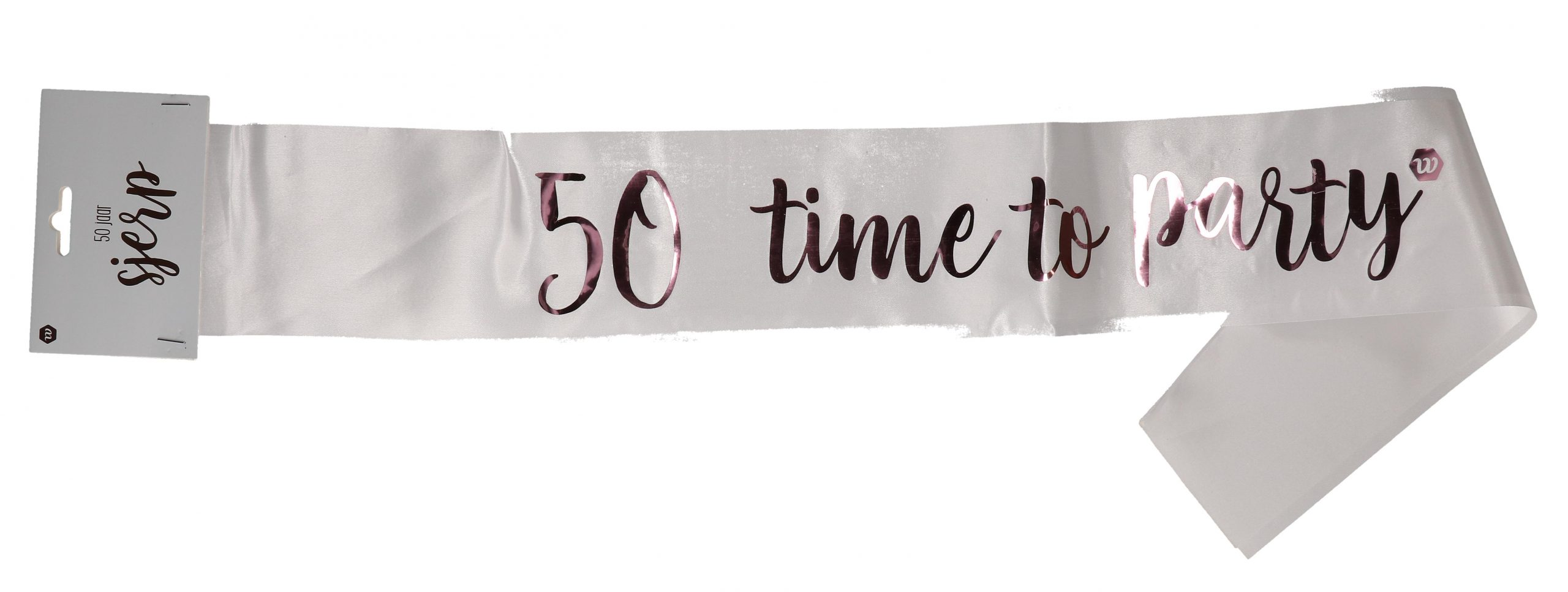 Rose-goud sjerp 50 jaar