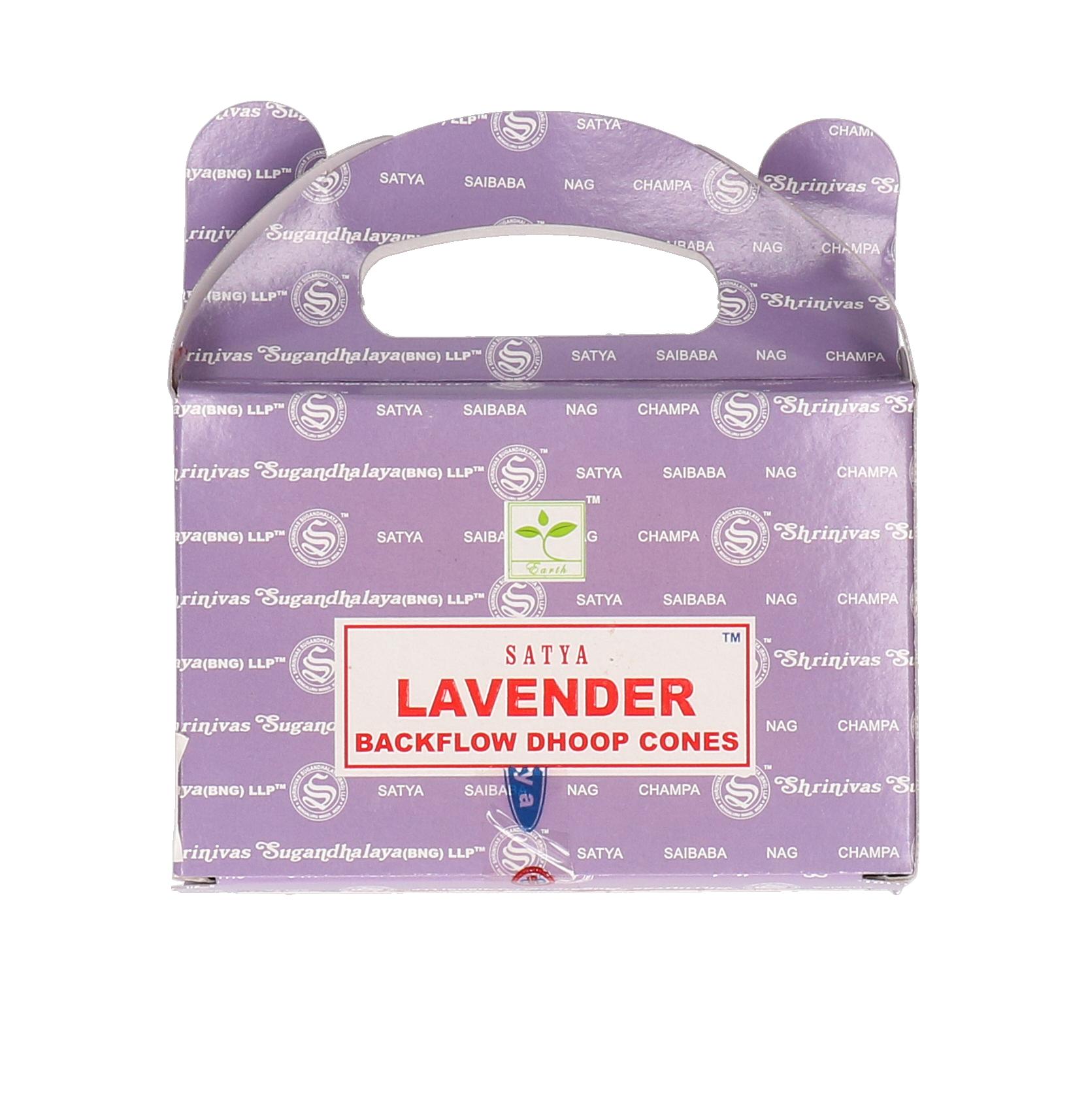 Satya Lavender backflow cones 24st