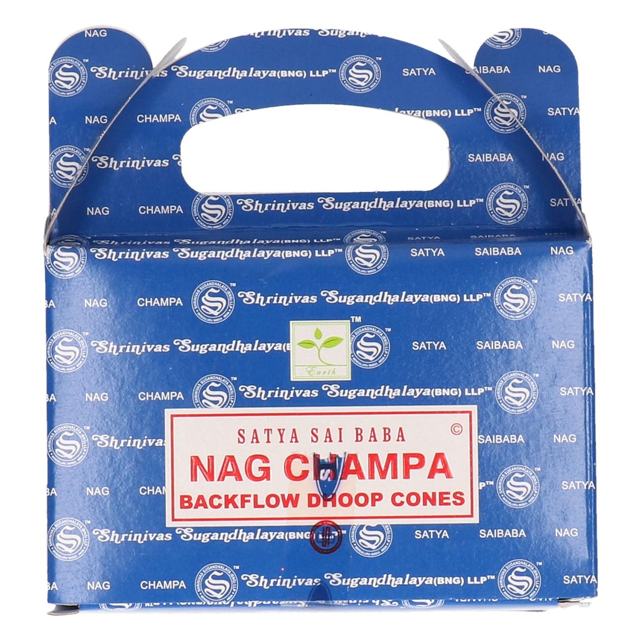 Satya Nag Champa backflow cones 24st