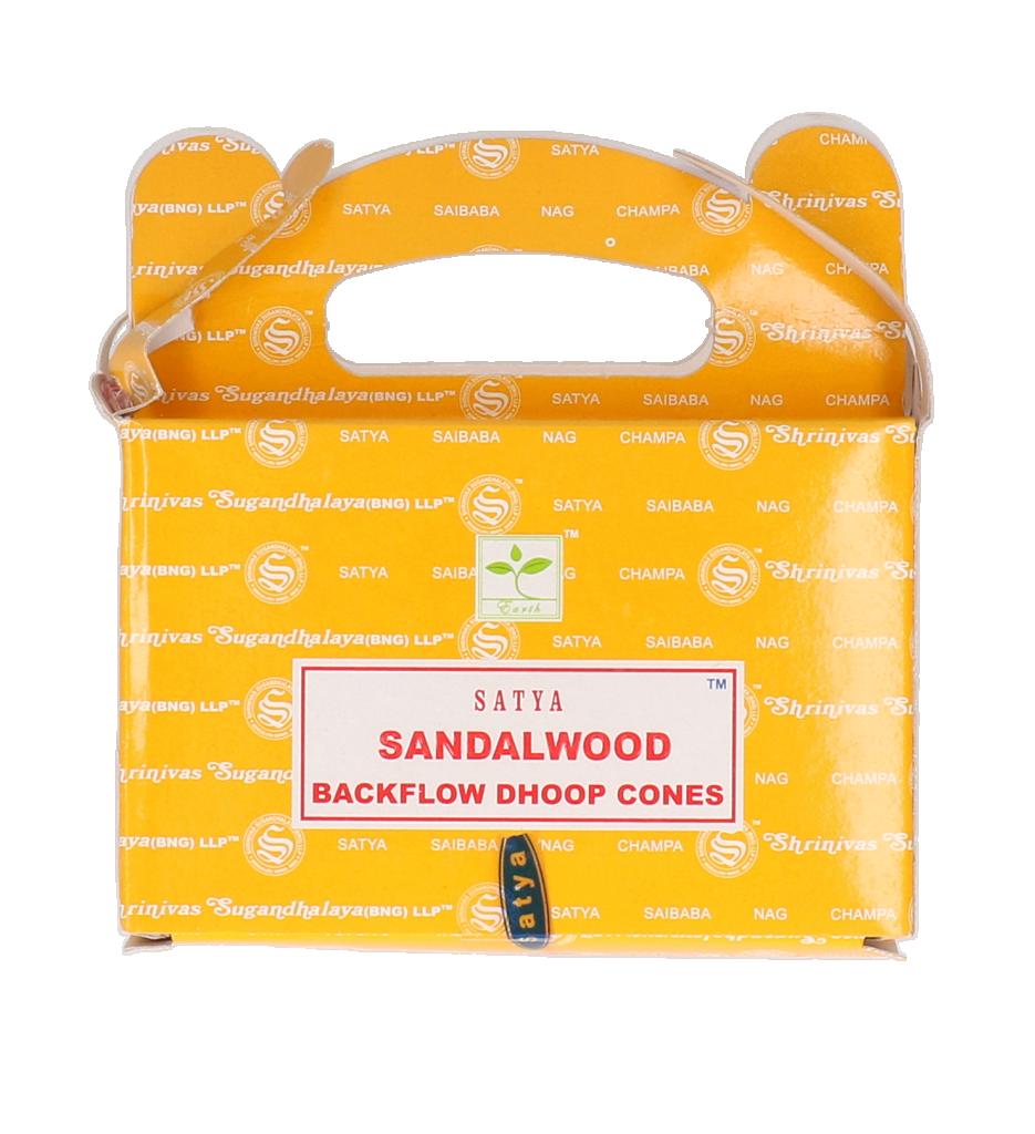 Satya Sandalwood backflow cones 24st