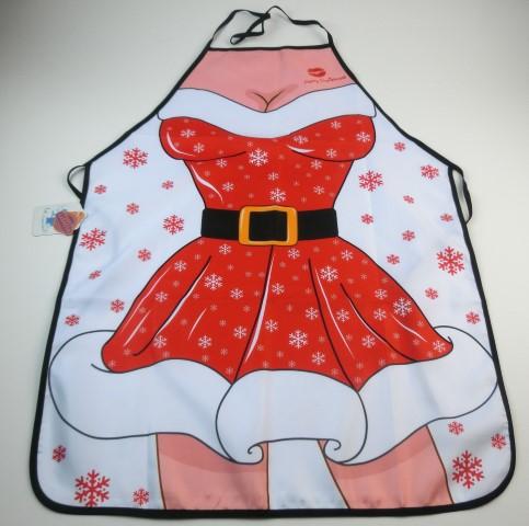 Schort kerstvrouw