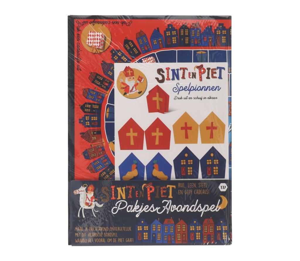 Sint en Piet pakjes avondspel