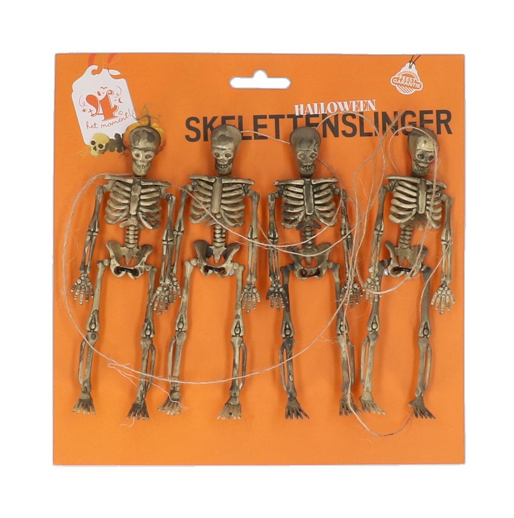 Skelettenslinger halloween