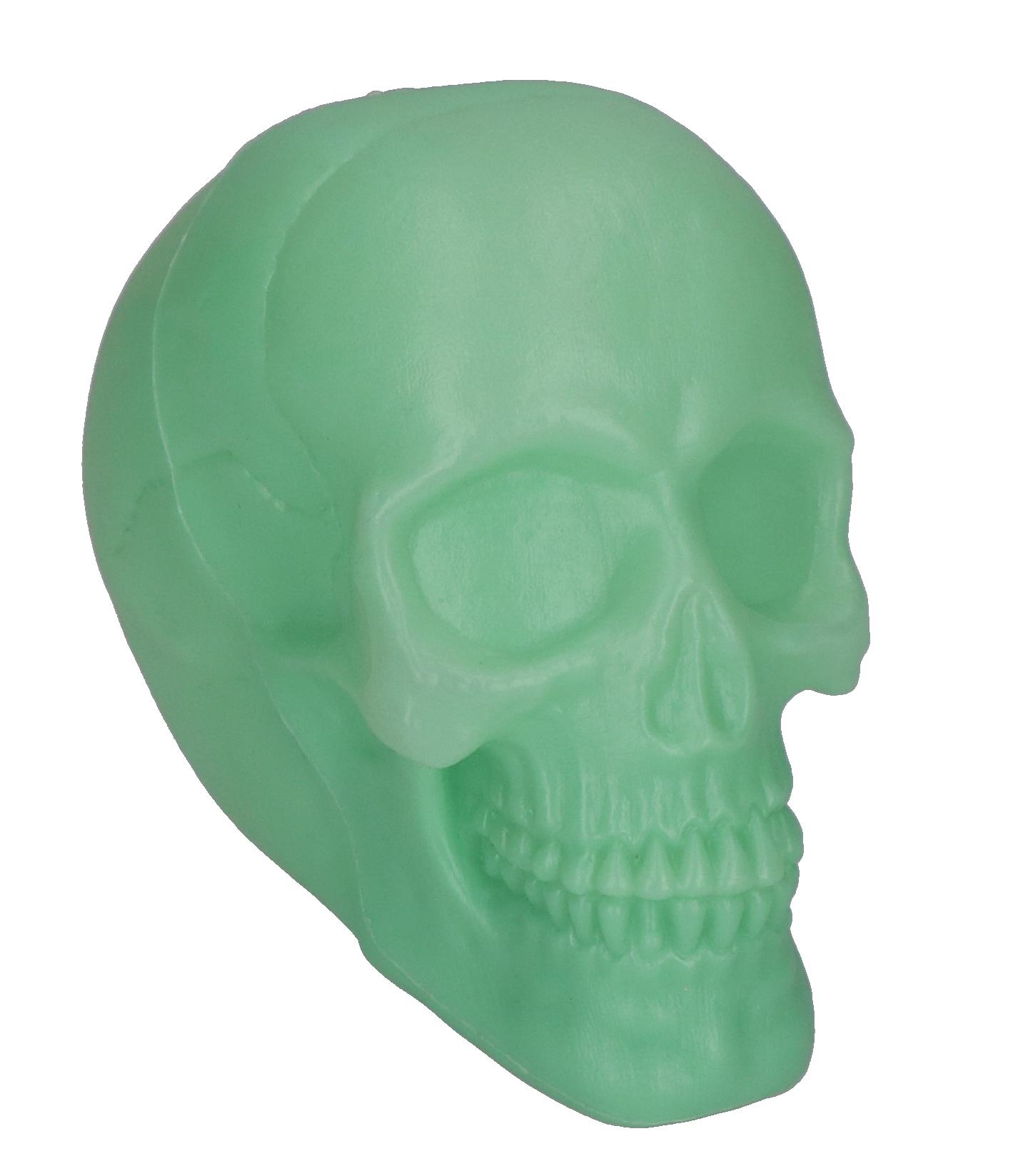 Skull glow in the dark groot