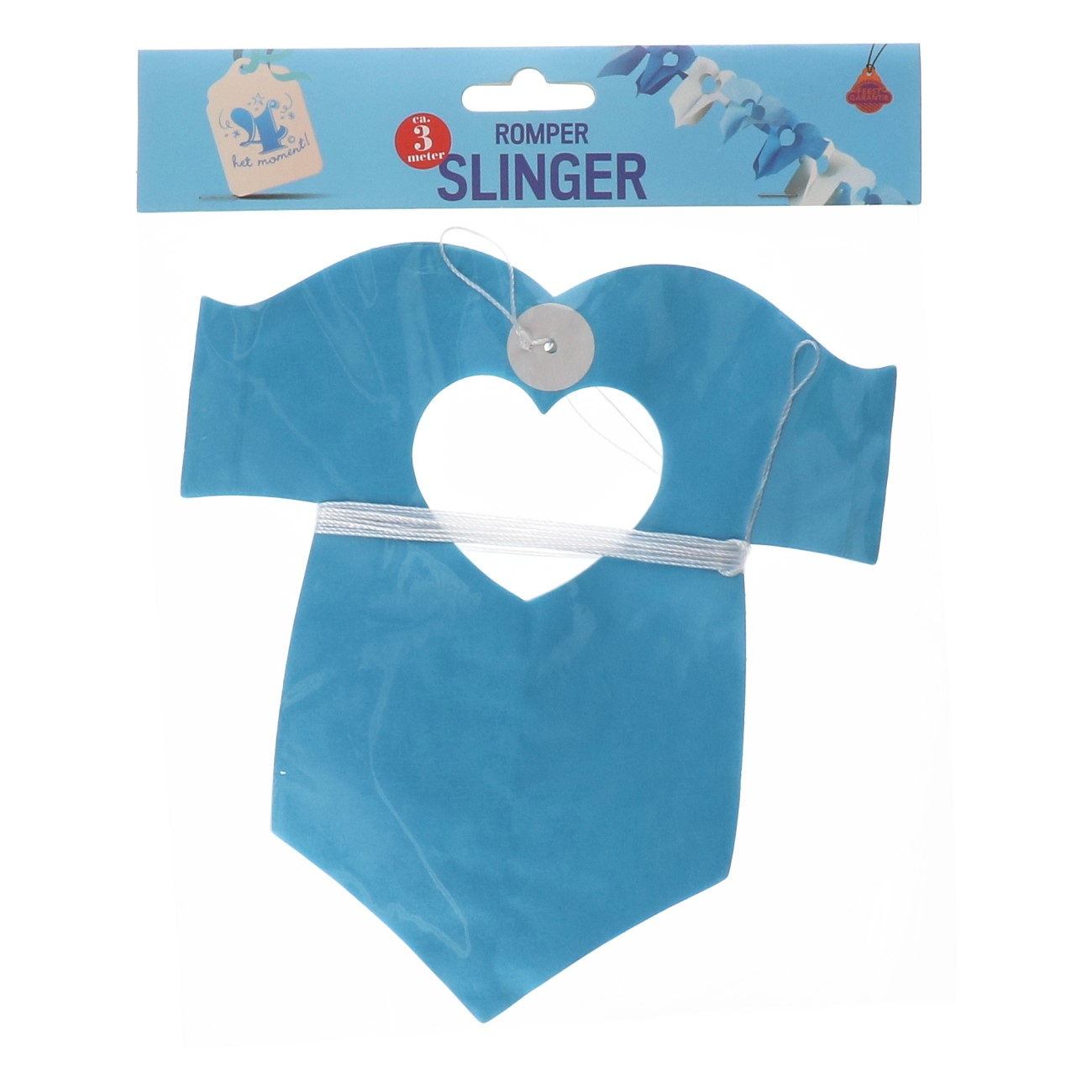 Slinger romper blauw