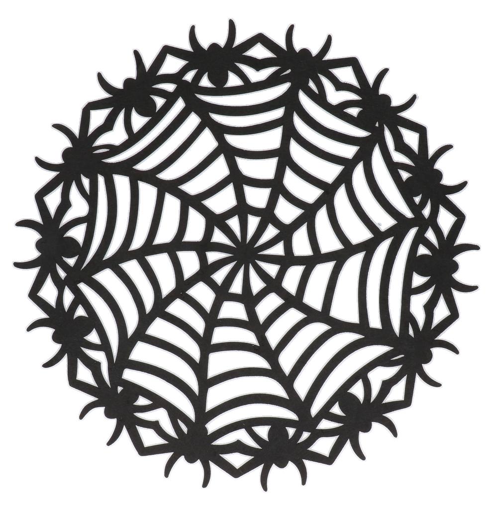 Spinnenweb vilt