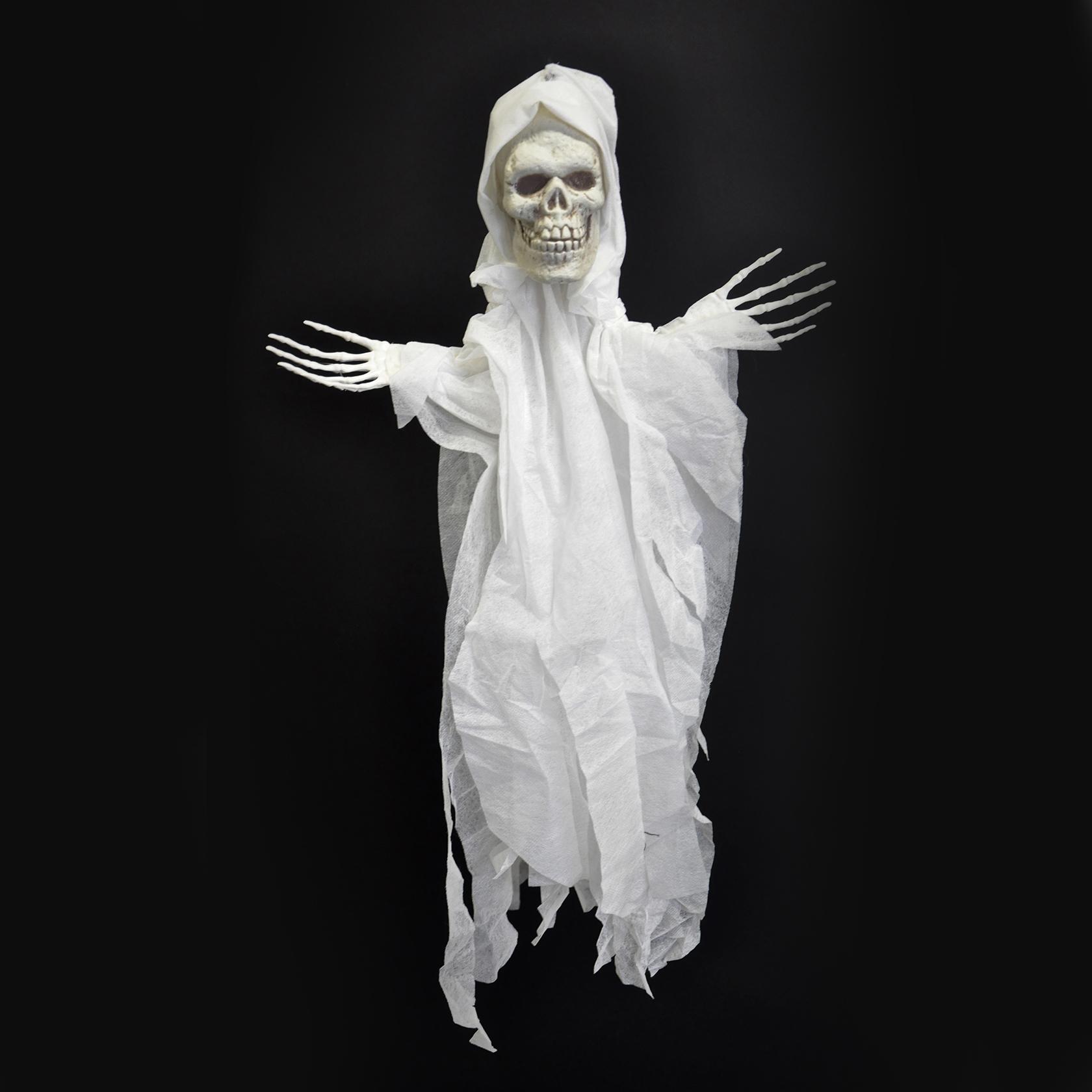 Spook hangend 65cm wit