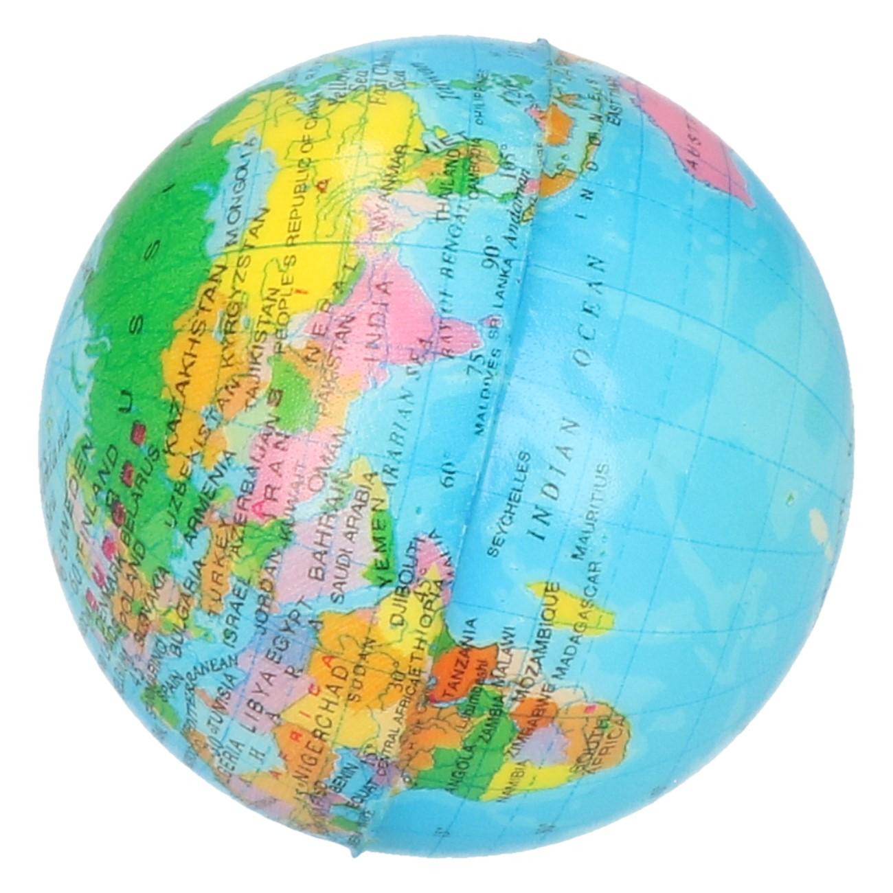 Stress bal globe