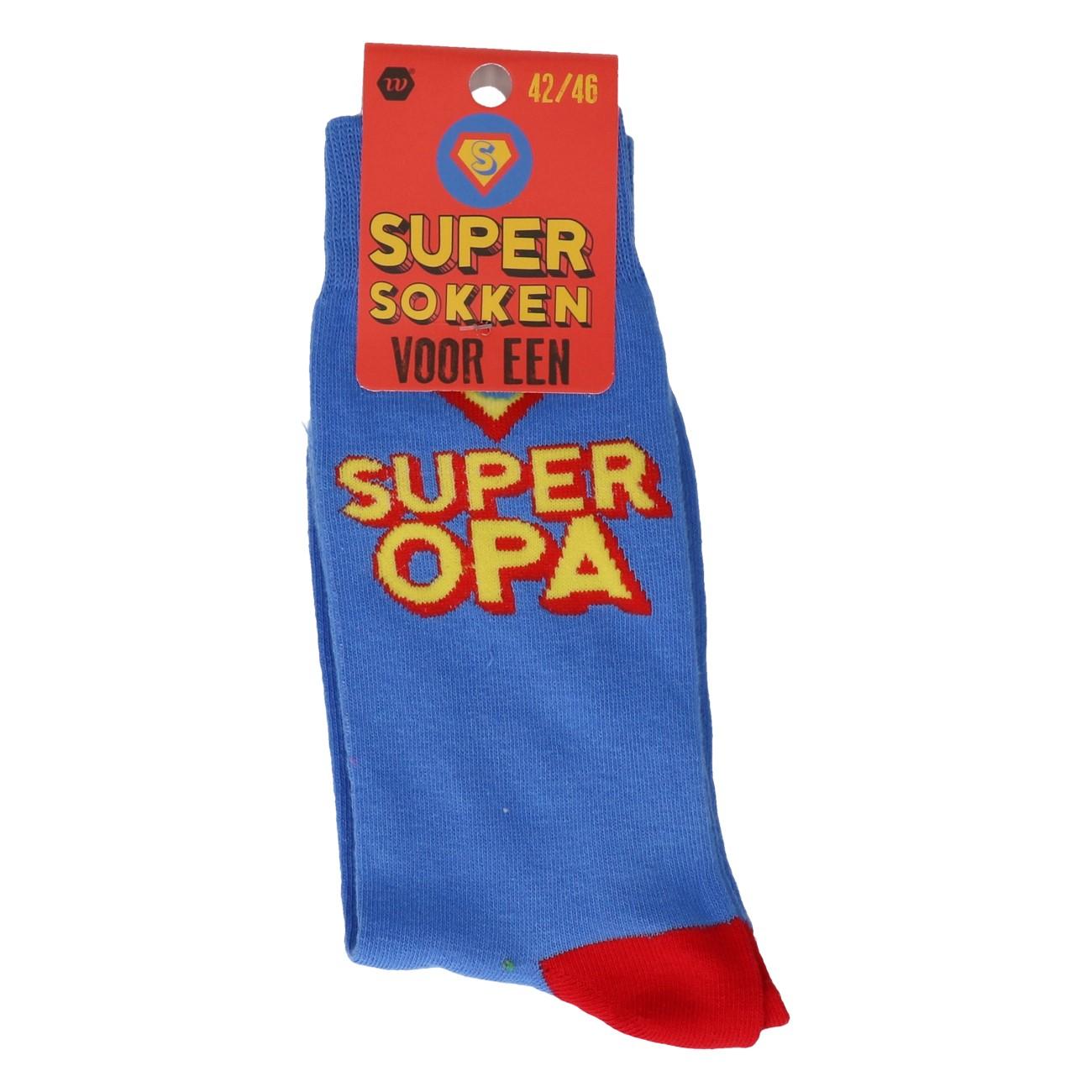 Super opa cadeausokken 42-46