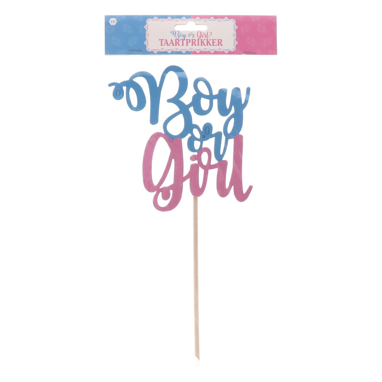 Taartprikker boy or girl?
