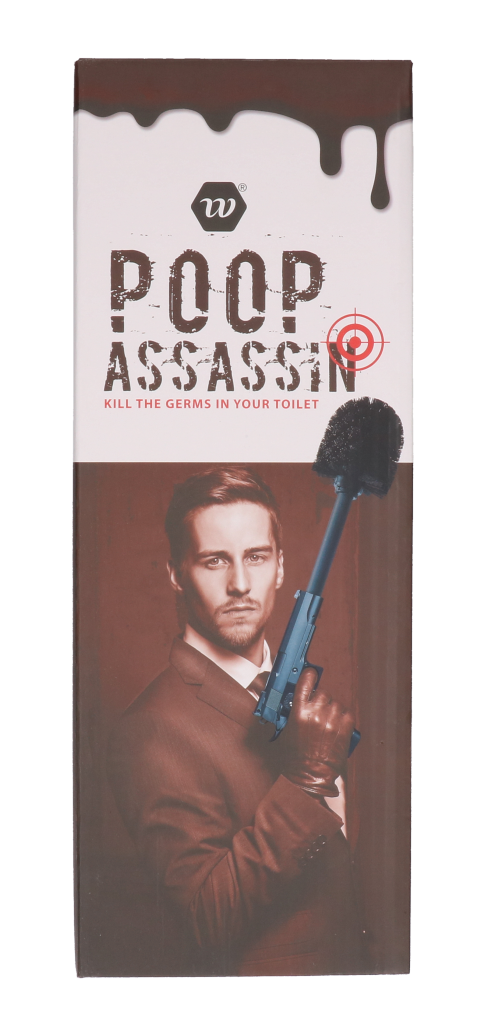 "Toiletborstel ""poop assassin"""