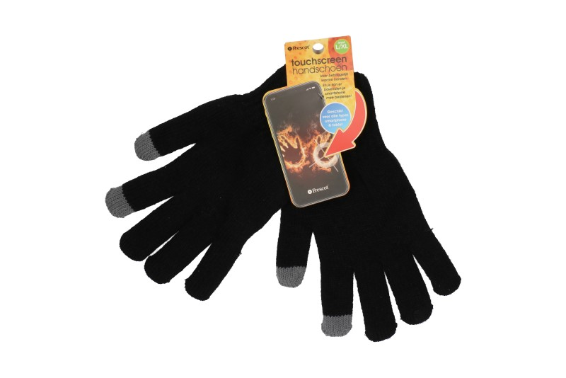 Touchscreen handschoen maat L/XL